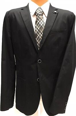 NWT MENS TED BAKER Cliford ReLuxed Fit Cotton Sport Coat JACKET BLAZER Navy 42R