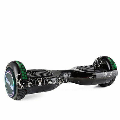 Hoverboard 6.5 Pollici Smart Balance Overboard Pedana Scooter 2019 Nero Light
