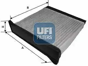 5422000 UFI Filter Interior Air Cabin Filter Replaces MME61701,MN185231,MR398288