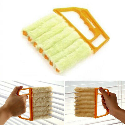 1pcs Brush Louver Window Cleaner Easy Car Clean Windshield Cleaning Product
