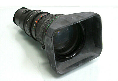 Fujinon Aspheric & IF 19x TV Zoom Camera Lens 1:1.4 / 6.5-123mm w/ Hood
