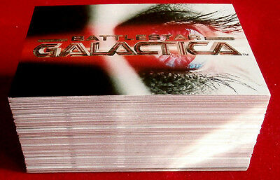 BATTLESTAR GALACTICA - Premiere Edition - Complete Base Set (72 Cards) - 2005