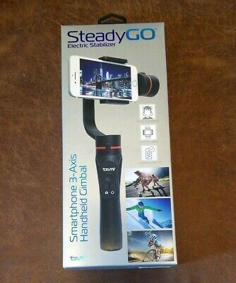 NEW SEALED SteadyGO Electric Stabilizer Smartphone 3-Axis Handheld Gimbal 5191 B