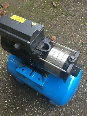 Clean Water Booster Set Modus HP25-2-05M 230volt with a max head of 3bar