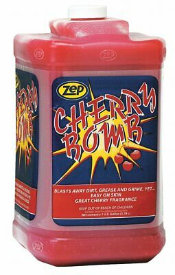 Zep Cherry Bomb Hand Cleaner Gallon Gallon Only $34.89 With Free Shipping!
