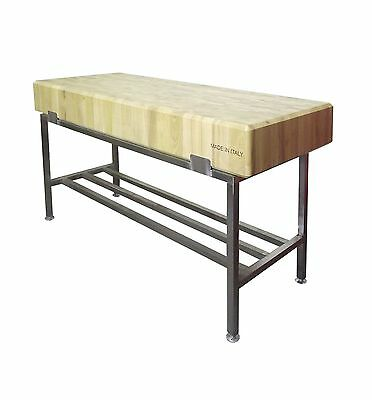 Professional Butchers Block & Stand - Commercial Quality