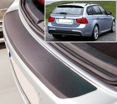 BMW 3 Series Touring E91 - Carbon Style rear Bumper Protector