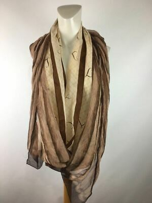 A Speciality House Women's Brown Long Made In Japan Cowl/Infinity Size One Size