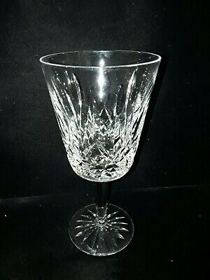 Set of 6 Waterford Cut Crystal Lismore Wine Claret Glass Glasses Stemware Stems