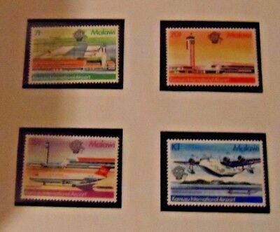 MALAWI - 1983  200th AnniverManned Flight   (Aircraft.). MNH SGMS683.
