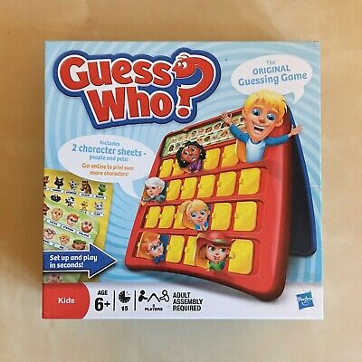 Guess Who? by Hasbro Kids Family Game Pets Complete