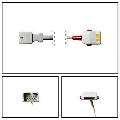 Masimo OEM 1645 LNOP Series to LNC SpO2 Extension Cable