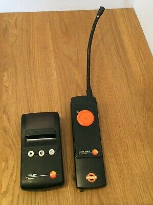 Testo 316-1 Flue Gas Analyser With Printer UNTESTED SOLD AS SEEN