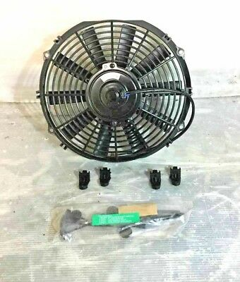 12 Volt Universal Push Or Pull Electric Cooling Fan Fitting Kit (No box)