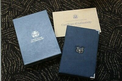 1987 US Mint Prestige Set, 6 coins, Constitution Proof Silver Dollar