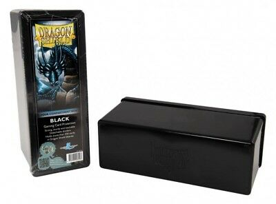 Dragon Shield - 4 Compartment Storage Box Black - Karten Box