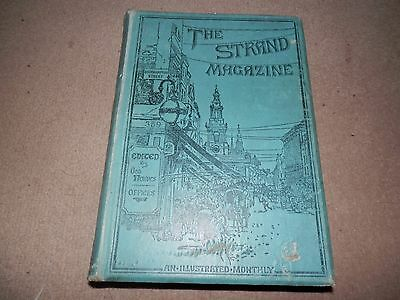 Strand Magazine vol 12 Jul Dec 1896 L T Meade Clifford Halifax Conan Doyle
