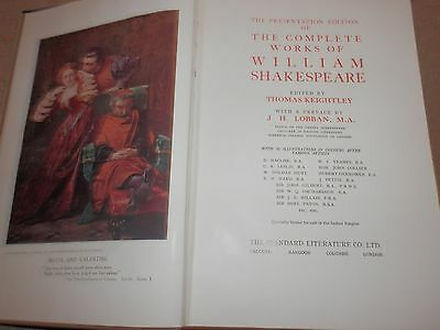 Plays of William Shakespeare complete Thomas Keightley 32 colour illustrations