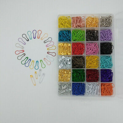 1200 in 1 Calabash Pins Small Steel Gourd Safety Pins Bulb Pins for Clothing DIY
