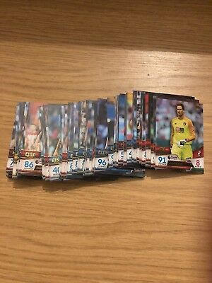 Match Attax Ultimate 2018/19 Full Set Of All 100 Base Cards All Mint Topps 18 19