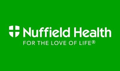 3 x Nuffield Gym Day Pass - Swimming, Spa, Running, Fitness, Bodybuilding