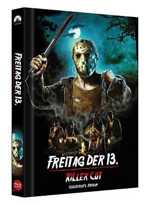 Freitag der 13. - Killercut - Limited Mediabook Edition Cover D - Neu + OVP