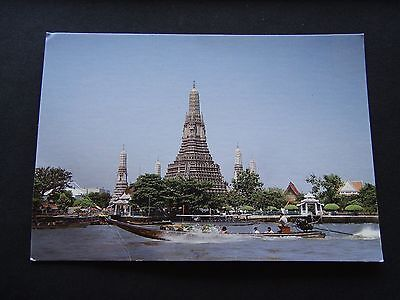 The Main Pagoda Of Wat Arun Ratchawararam Bangkok Thailand Postcard