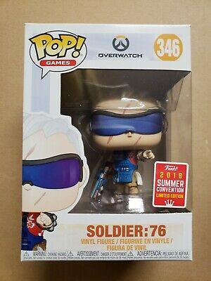 Funko Pop Soldier 76 grill master overwatch sdcc summer con 2018 exclusive