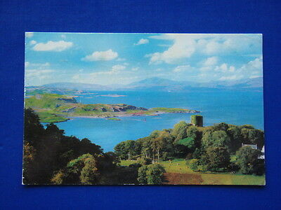 Shepherd's Hat And Mountains Of Mull Dunollie Castle Oban 1972 Postcard