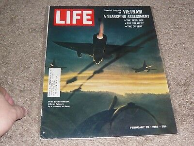 Life Magazine / February 25 1966  Vietnam War Special Section / Marshall Mcluhan