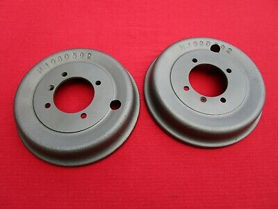 Pair of Ready to Install Reconditioned & Turned Brake Drums for Sunbeam Alpine