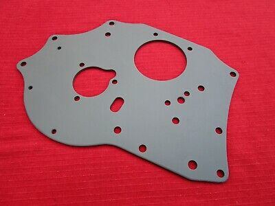 Reconditioned and Primed OEM Front Engine Plate for 1962 – 1974 MGB & MGB-GT