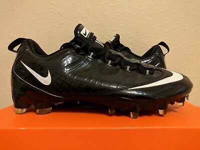 c90759f930989 Nike Vapor Carbon Fly TD Zoom Football Cleats Black White (396256-011) size