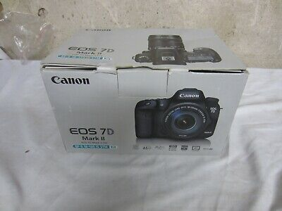 Canon EOS 7D Mark II (9128B002) Digital SLR Camera in orig. box w/ Everything