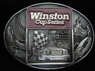 Qe07162 *Nos* 1983 *Winston Cup Series Nascar Grand National** Tobacco Buckle