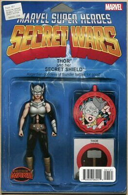 Thors #1- NM - Action Figure Variant