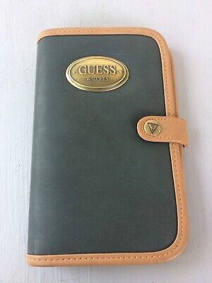 New Old Stock Guess Daily Planner & Address Book