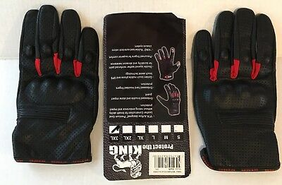 King Swift Premium Leather Gloves