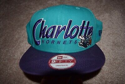 best loved 3affd d01f4 Charlotte Hornets New Era 9FIFTY NBA Snapback Hardwood Classics Hat Cap