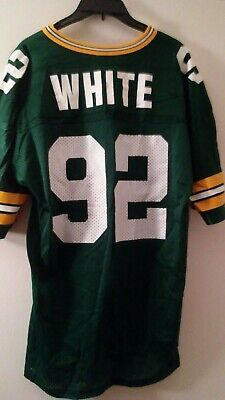 d18ce3a1 AUTHENTIC VINTAGE CHAMPION Green Bay Packers #92 Reggie White Jersey Size  48 EUC