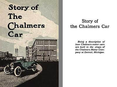 Chalmers 1913 - Story of The Chalmers Car