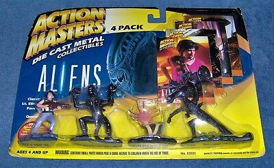 Vintage-1994-Kenner-Action Masters-Ripley-Classic<Alien>Queen-Face Hugger-Misc6P