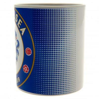 Chelsea FC Halftone HT New Design Ceramic Tea Coffee Mug Cup In Box Xmas Gift