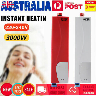 Electric Water Heater Portable Camping Outdoor Shower Instant Hot Water System