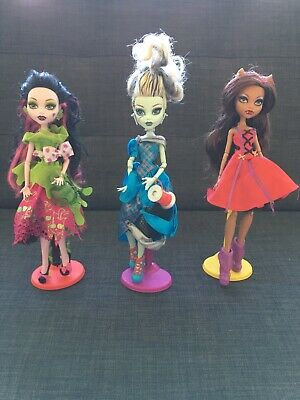 monster high scarily ever after bundle rare Retired Collection