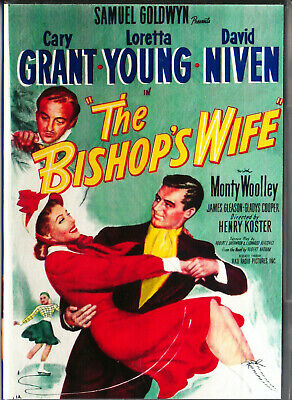 The Bishop's Wife Dvd=Hd Trans=Cary Grant-Loretta Young=Region 0 Inc Aus=L/New