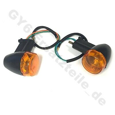 BLINKER HINTEN GELB z.B. BAOTIAN BT49QT-7 BT50QT-7 CHINA ROLLER MOPED QUAD ATV