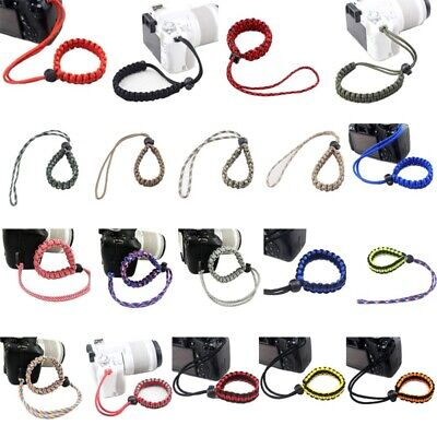Nylon Lanyard Hand Wrist Strap Rope Band Colorful for Camera U Disk Cell Phone