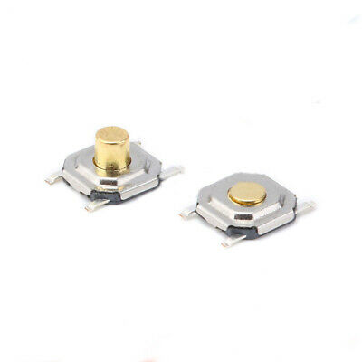 4x4 Tact Switch Micro Push Button Switch SMD SMT Height 1.5mm 3mm Copper Head