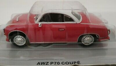 1//43 AWZ P70 P 70 COUPE POLISH CARS COCHE DE METAL A ESCALA